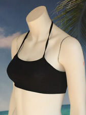 Halter Machine Washable Casual Solid Tops & Blouses for Women