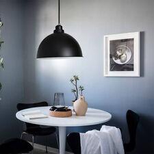 Black Modern Industrial Light Pendant Lamp Macaron Ceiling Hanging Metall Shade