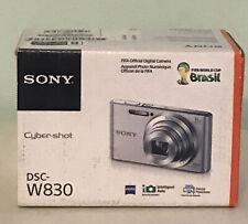 Sony Cyber-shot DSC-W830 20.1MP Digital Camera 8x Optical Zoom Black