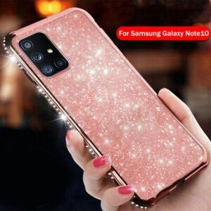 For Samsung S21 Ultra S20 FE S20 Plus A51 A71 A21S Bling Diamond Soft Case Cover