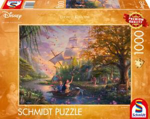 Pocahontas: Schmidt Disney Thomas Kinkade Jigsaw Puzzle 1000 59688