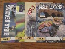 PACES Bible Reading 1021-1024 plus Score Keys 1013-1024