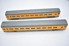 2 HO Scale Rivarossi Passenger Train Cars Union Pacific # 2004