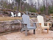 Grandma Adirondack Chair Plans - Full Size Patterns