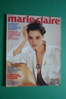 Marie Claire Aout 432/1988 Mirelle Mathieu Beatrice From Laura Morante