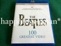 The Beatles Greatest Video 100 Spanning The Years 1962 - 1970 Blu-ray 1 Disc F/S