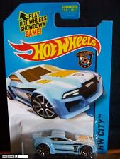 HOT WHEELS 2014 #13 -1 TORQUE TWISTER BLU CITY CA AMER