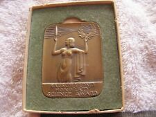 Art Deco Bausch & Lomb Honorary Science Award Bronze Medal