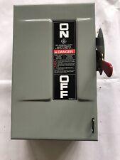 Used Ge Tg3221 30A 240V Single Ph Nema 1