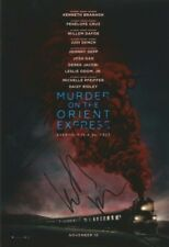 Murder On The Orient Express Signed 12x8 Photo AFTAL *SIGNED BY 4*