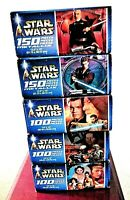 5 Sealed  Vintage Star Wars 100-150 Piece Puzzles Hasbro MB