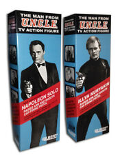 """Gilbert MAN FROM UNCLE Boxes for 12"""" Action Figures"""