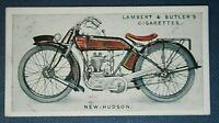 NEW HUDSON 350cc TOURIST MODEL   Motorcycle   Original 1923 Colour Card