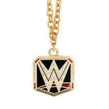 WWE AUTHENTIC WORLD HEAVYWEIGHT CHAMPIONSHIP PENDANT NECKLACE FREE SHIPPING NEW