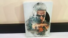 WITCHER 3 PS4 XBOX ONE STEELBOOK G1. PERFECT CONDITION. NO GAME!