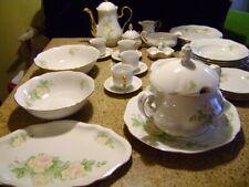 EPIAG-CZECHOSLOVAKIA-PORCELAIN for FOUR DINNER SERVICE & COFFEE OR TEA SET