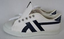 Vintage Jox Shoes 6 M Sneakers Athletic White Navy Canvas Mens NEW