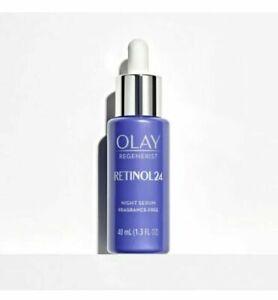 OLAY Regenerist Retinol 24 Night Facial Serum Fragrance Free - Free Shipping