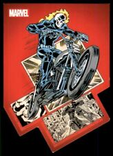 2014 Marvel 75th Anniversary Die-Cut Panel Bursts #PB6 Ghost Rider