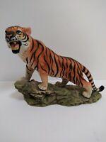 Bengal Tiger By Andrea Sadek Porcelain Animal Figurine #6591 Wild Life Jungle