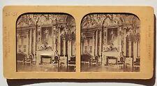 Hôtel de Ville de Paris France Stereo Vintage albumine ca 1860