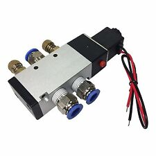 """4-Way Solenoid Valve 3/8"""" With All Fittings"""