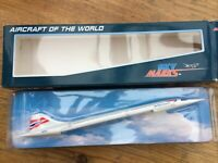 SKY MARKS SKR106 Aircraft Of The World CONCORDE model British Airways 1:250th