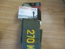 Men's 30% Merino Wool Tall Thick Warm Hunting Hiking Socks Sz Lg Caliber CAL-302