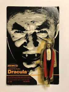 Vintage Remco Universal Monsters Dracula MOC Unpunched 3 3/4