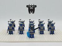 Star Wars Pre Vizsla Death Watch Mandalorian Army 11 Minifigures Set- USA SELLER