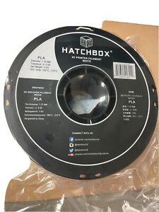 HATCHBOX 3D PLA - 1KG1.75 - White 1.75 mm - 1 Kg Spool