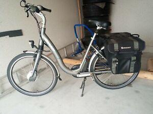 E Bike Giant Hybrid Trekkingfahrrad mit 2 Accus