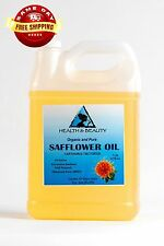 SAFFLOWER OIL ORGANIC by H&B Oils Center HIGH OLEIC COLD PRESSED 100% PURE 7 LB