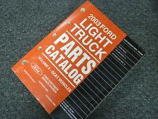 2003 Ford Explorer Sport Trac Pickup Truck Parts Catalog Manual Book XLS XLT