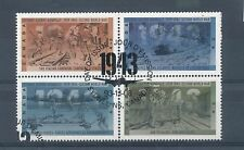 Used Block Canadian Stamps