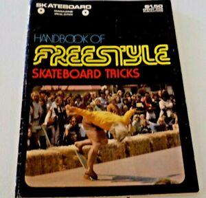 FreeStyle Magazine 1975 Skateboard Tricks Handbook, Russell Wayne Howell