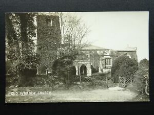 Bedfordshire OLD WARDEN St. Leonard Church - Old RP Postcard