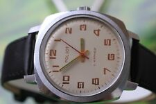 VINTAGE MEN'S VERY BIG RUSSIAN MECHANICAL POLJOT KIROWSKIE WATCH 17 JEWELS!