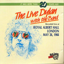 """BOB DYLAN """"THE LIVE DYLAN WITH THE BAND"""" cd Italy live mint"""
