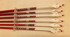 Carbon Express Maxima Red 350 Carbon Arrows w/Blazer Vanes Wraps 1/2 Dz.