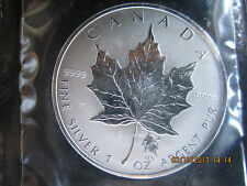 "ROMAN ZODIAC  ""LEO"" $5 PURE.9999 1 OZ CANADA 2004 SILVER MAPLE LEAF MINTED 5000"