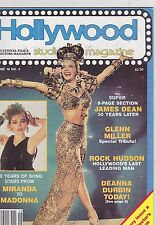 SEP 1985 HOLLYWOOD STUDIO vintage movie magazine  MADONNA - MIRANDA