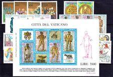 Vatikan Jahrgang 1987 komplett postfrisch **