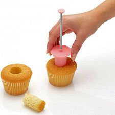 Kitchen Craft Cupcake Muffin Cake Plunger Corer Cutter Decorating Baking Tool