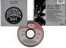 "BARRY WHITE ""Greatest Hits"" (CD) 10 Titres 1975"