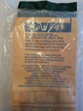 NIP 3 Genuine Kirby 197201 Micron Magic HEPA Bags