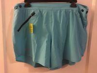 Under Armour Women's Lined Heatgear Running Shorts Size L NWT