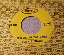 Cliff Richard – It's All In The Game / I'm Looking Out Of The Window  ~ (M-)