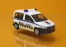 Rietze 52913 Volkswagen VW Caddy Modell 2011 Kombi Metska Policie Polizei CZ NEU