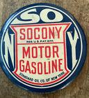 Socony+Motor+Oil+gasoline+pocket+mirror